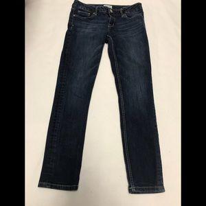 Aeropostale bayla skinny jeans size 7/8 short